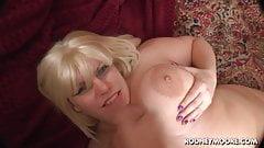 Blonde BBW Tiffany Blake Big Fat Tits POV