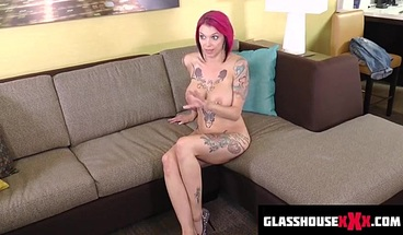 behind the scenes sloppy filthy Blowjob anna bell peaks