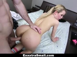 ExxxtraSmall – Skinny Alina West Fucking Her Step Brother