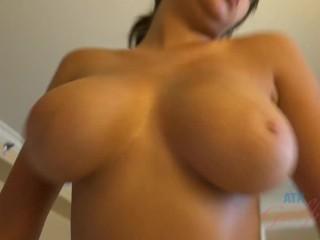 Hot sexy Ebony with big boobs Cassidy Banks having fun with boyfriend