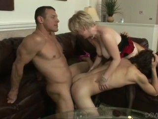 Husband and wife arrange bisex party Part 2
